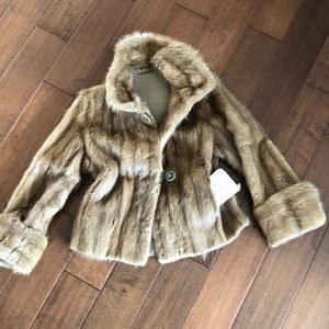 🇨🇦 CANADIAN MADE SWEET LITTLE  REAL FUR JACKET